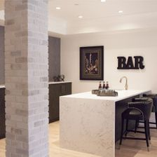 kitchen bar area